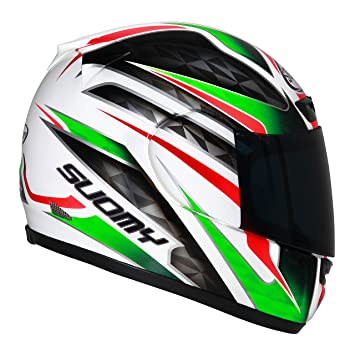Suomy Apex Italy Casco para Moto Integral, Multicolor, M