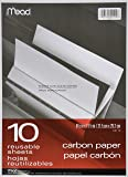 Black Carbon Mill Finish Paper, 8-1/2 x 11-1/2, 10 Sheets