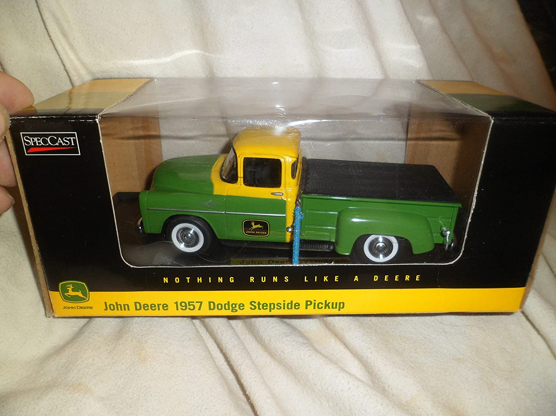 John Deere Die Cast 1957 Dodge Stepside Pickup 125 Chevy Truck Scale Toys Games
