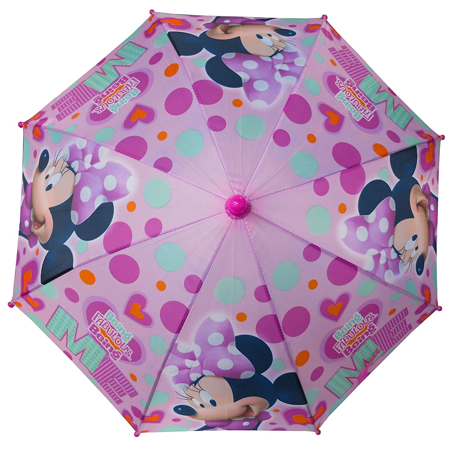 Amazon.com: Disney Minnie Mouse Umbrella - 3D handle