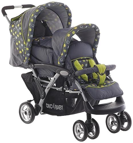 CHIC 4 Baby Carrito Duo Incluye Baby Bolsa de transporte y de lluvia, varios. Colores Lemontree