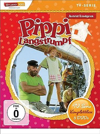 Astrid Lindgren Pippi Langstrumpf Tv Serie Komplettbox 5