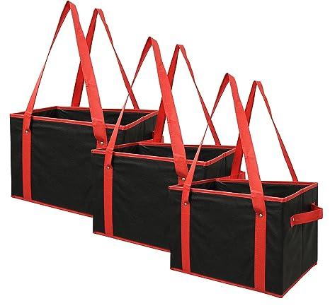 Amazon.com: Caja de bolsas reutilizables Deluxe para hacer ...