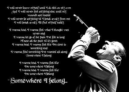 Missing lyrics by Linkin Park?