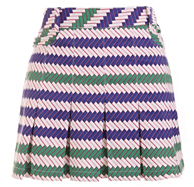 Amazon com: SunviewGolf SVG Wavy Stripe Golf Skorts Sport Skirts