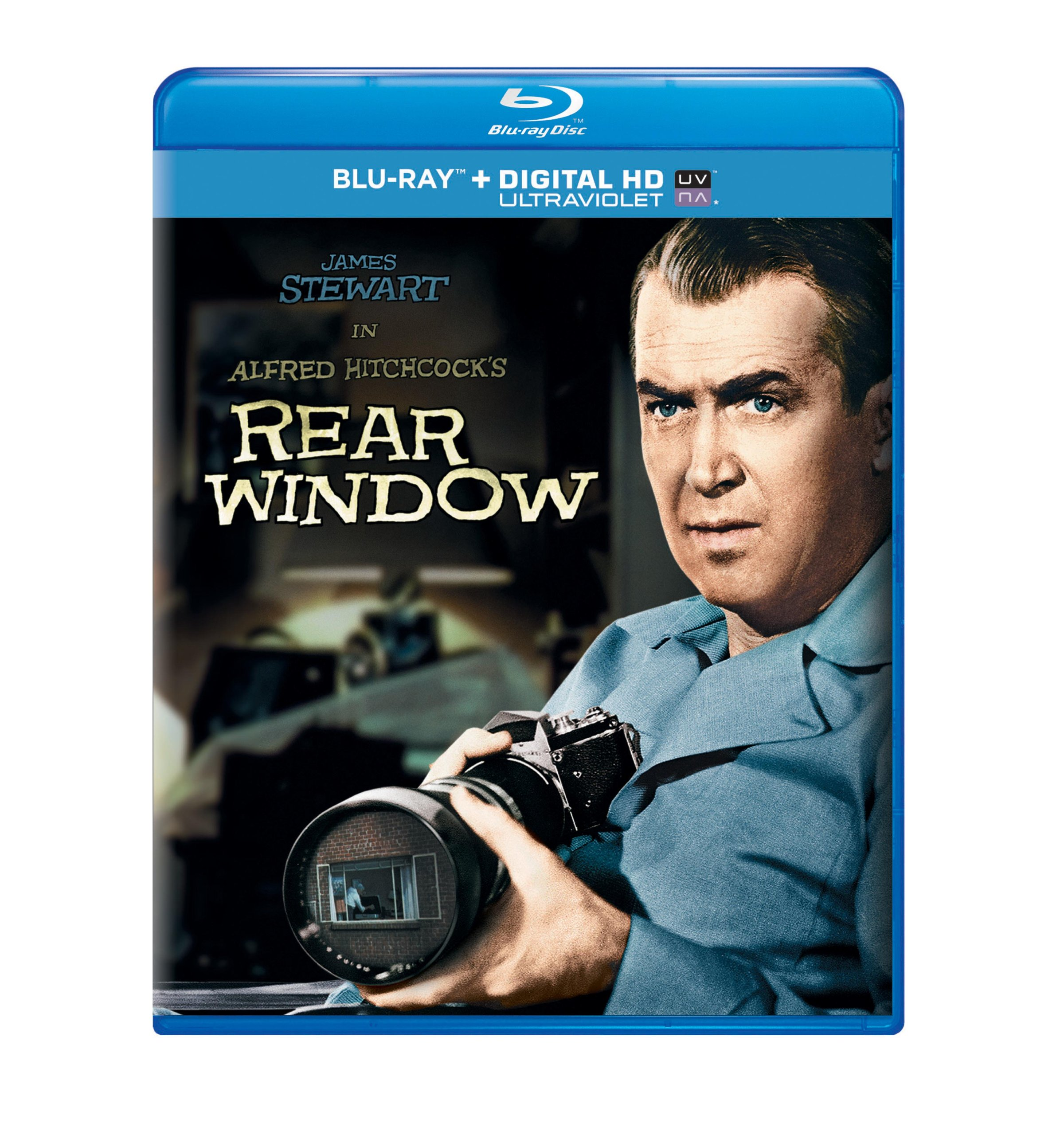 Blu-ray : Rear Window (Ultraviolet Digital Copy, Digital Copy, Snap Case)