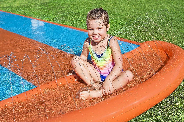 Pista Deslizante Hinchable Bestway H2O Go! Triple 549 cm: Amazon ...