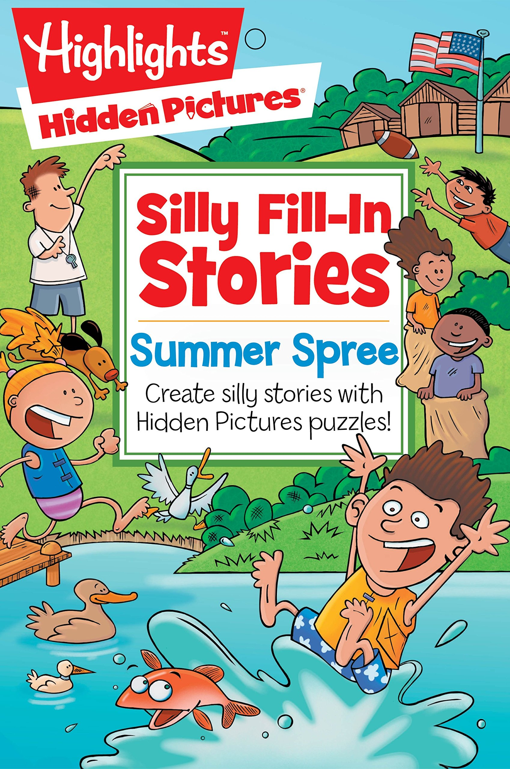 Summer Spree Create Silly Stories With Hidden Pictures Puzzles