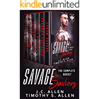 Savage Saviors: The Complete Boxset (Savage Saviors MC)