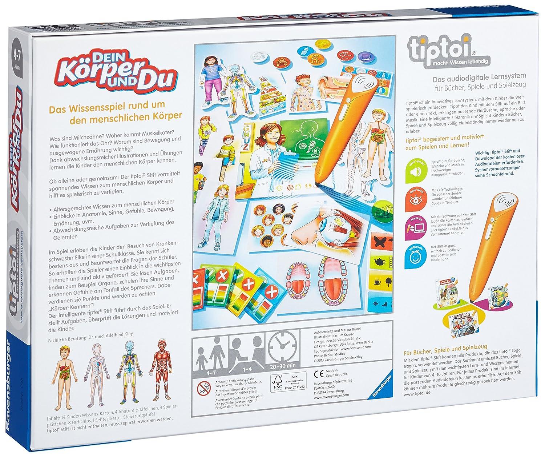 Ravensburger 00560 - Tiptoi Dein Körper und du: Amazon.de: Spielzeug