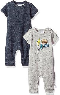 Rosie Pope Baby Boys 2 Pack Short Long Sleeve Romper zTZpffMQ