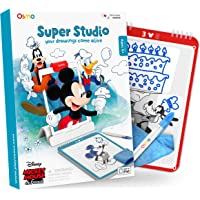 Osmo - Super Studio Disney Mickey Mouse & Friends - Ages 5-11 - Learn to Draw - for iPad or Fire Tablet (Osmo Base…