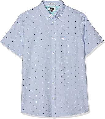 Tommy Hilfiger TJM Short Sleeve Dobby Shirt Camisa Casual para Hombre: Amazon.es: Ropa y accesorios