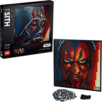Oferta amazon: LEGO- Art Póster de Coleccionistas Star Wars: Los Sith Decoración de Pared, Set de Construcción para Adultos (31200)