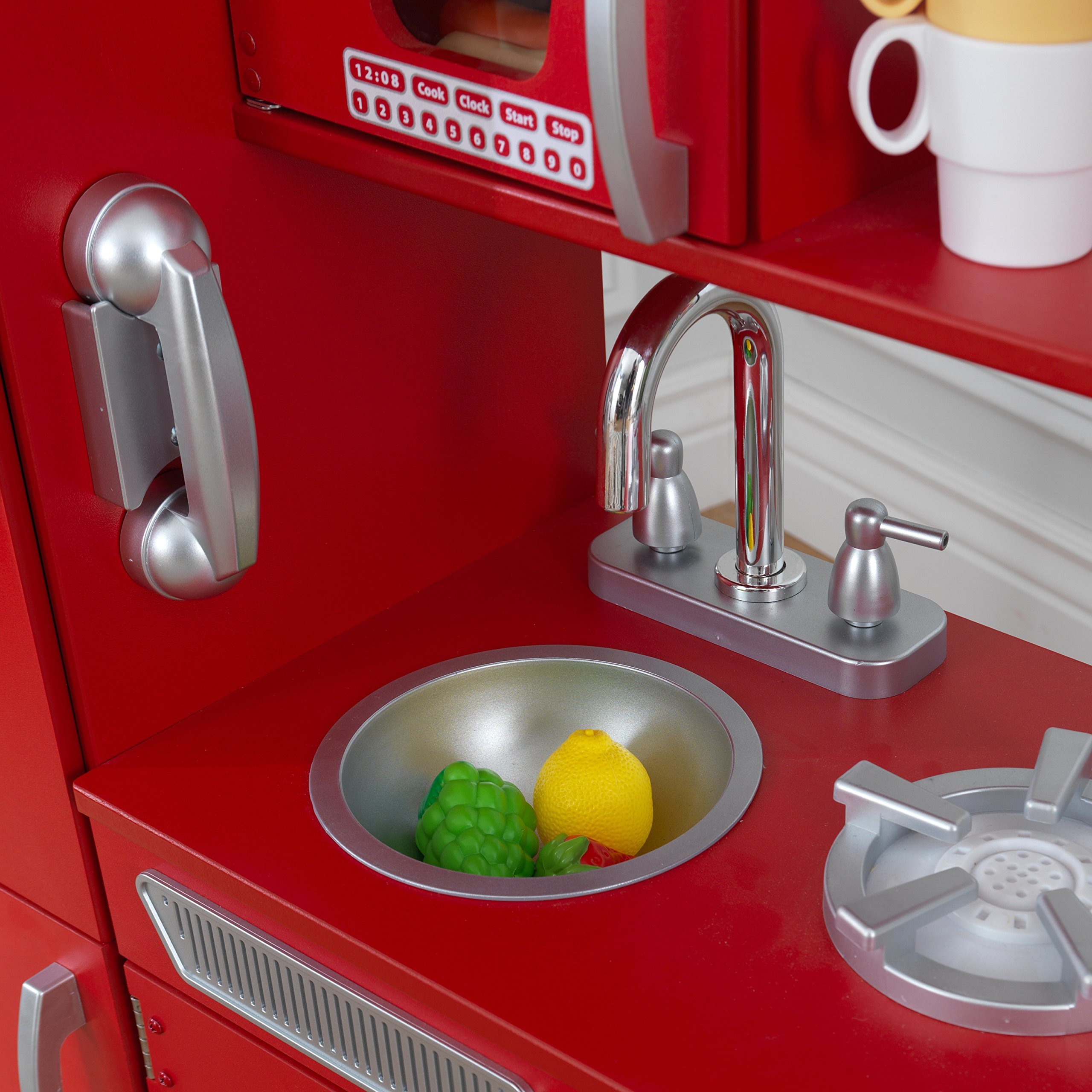 KidKraft Vintage Play Kitchen - Red by KidKraft (Image #7)