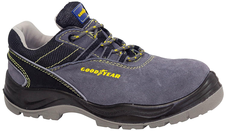 gris G138106C Goodyear G138107/C/ /Chaussure en cuir cro/ûte couleur grise