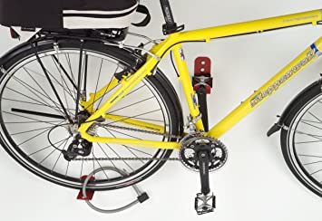 König Werbeanlagen 3510 – Soporte de pared Pedal para 1 bicicleta