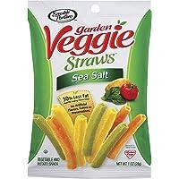 Sensible Portions - 30357 Garden Veggie Straws, Sea Salt, 1 oz. (Pack of 8)
