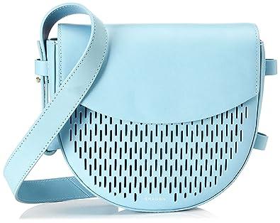 Skagen Lobelle, Women's Cross-Body Bag, Blau (Sky )