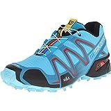 Salomon Women's Speedcross 3 Trail Running Shoes, Grey, 8