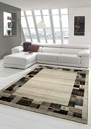 Designer Teppich Moderner Teppich Wohnzimmer Teppich Mit Bordure