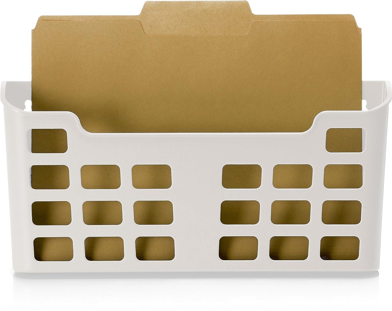 Officemate MagnetPlus Magnetic Letter Size File Pocket, White (92543)