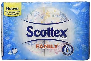 scottex carta da cucina la qualit scottex in formato convenienza 4 rotoli