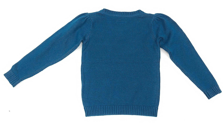 OshKosh BGosh Little Girls Blue Poodle Sweater