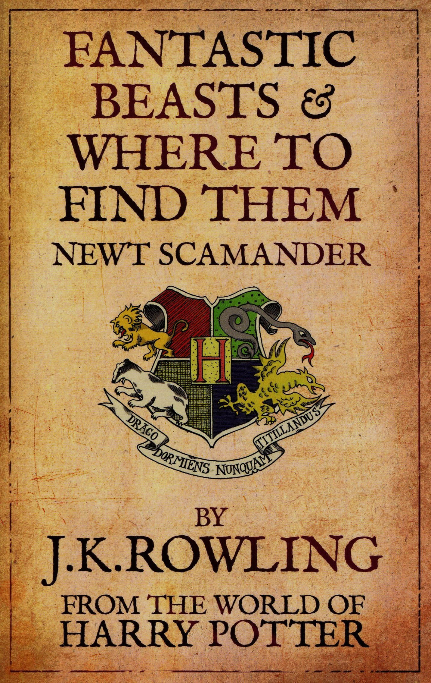 Fantastic Beasts And Where To Find Them: Jk Rowling: 8601404211171:  Amazon: Books