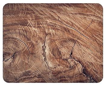 Holz Struktur mousepad holz struktur amazon de küche haushalt