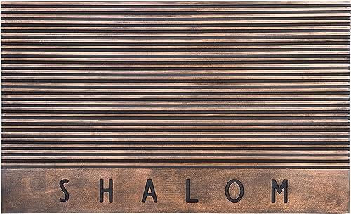 Jewish Holidays Judaica Hanukkah Gifts Etc, Shalom Funny Door Mats Welcome Mat Front Door Mats 30 x 18