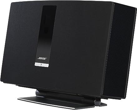 SoundXtra BST30DS1021 Soporte de Altavoz Mesa Aluminio Negro ...