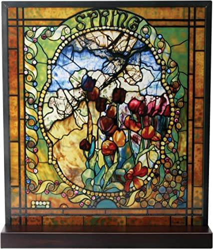 YTC Tiffany Spring Stained Glass