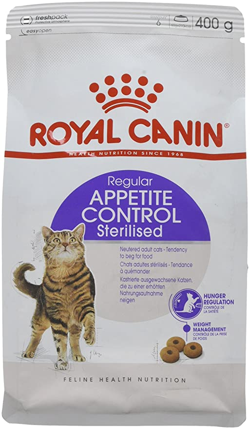 Royal Canin C-584633 Sterilised Appetite Control - 400 gr