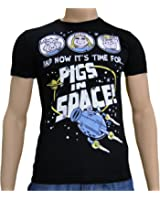 Muppets - Miss Piggy Pigs In Space T-Shirt, High-Quality