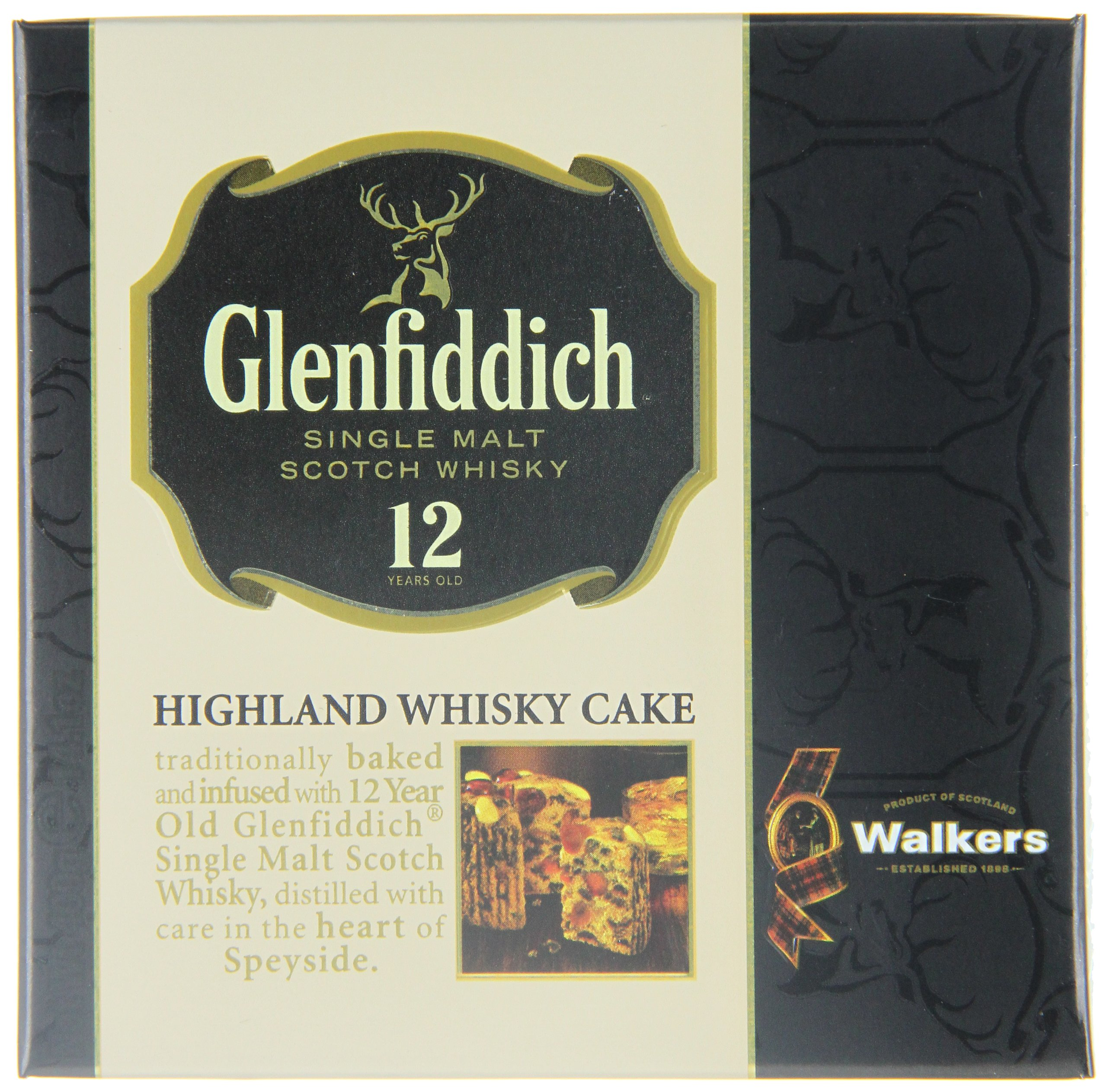 Walkers Shortbread Glenfiddich Highland Whisky Cake, 14.1 Ounce Box Traditional Scottish Fruit Cake with Glenfiddich Malt Whisky, Cherries, Sultanas by Walkers Shortbread (Image #7)