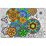 Giant Coloring Poster Mandala Madness for Kids and Adults - Great for Family Time, Girls, Boys, Arts and Crafts, Adults…