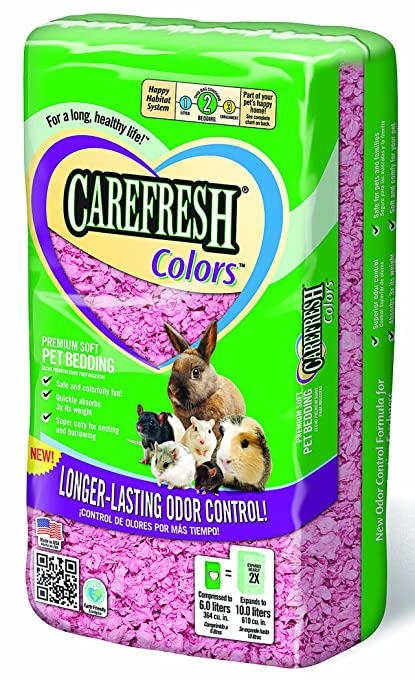 Carefresh Complete colors Pet Bedding