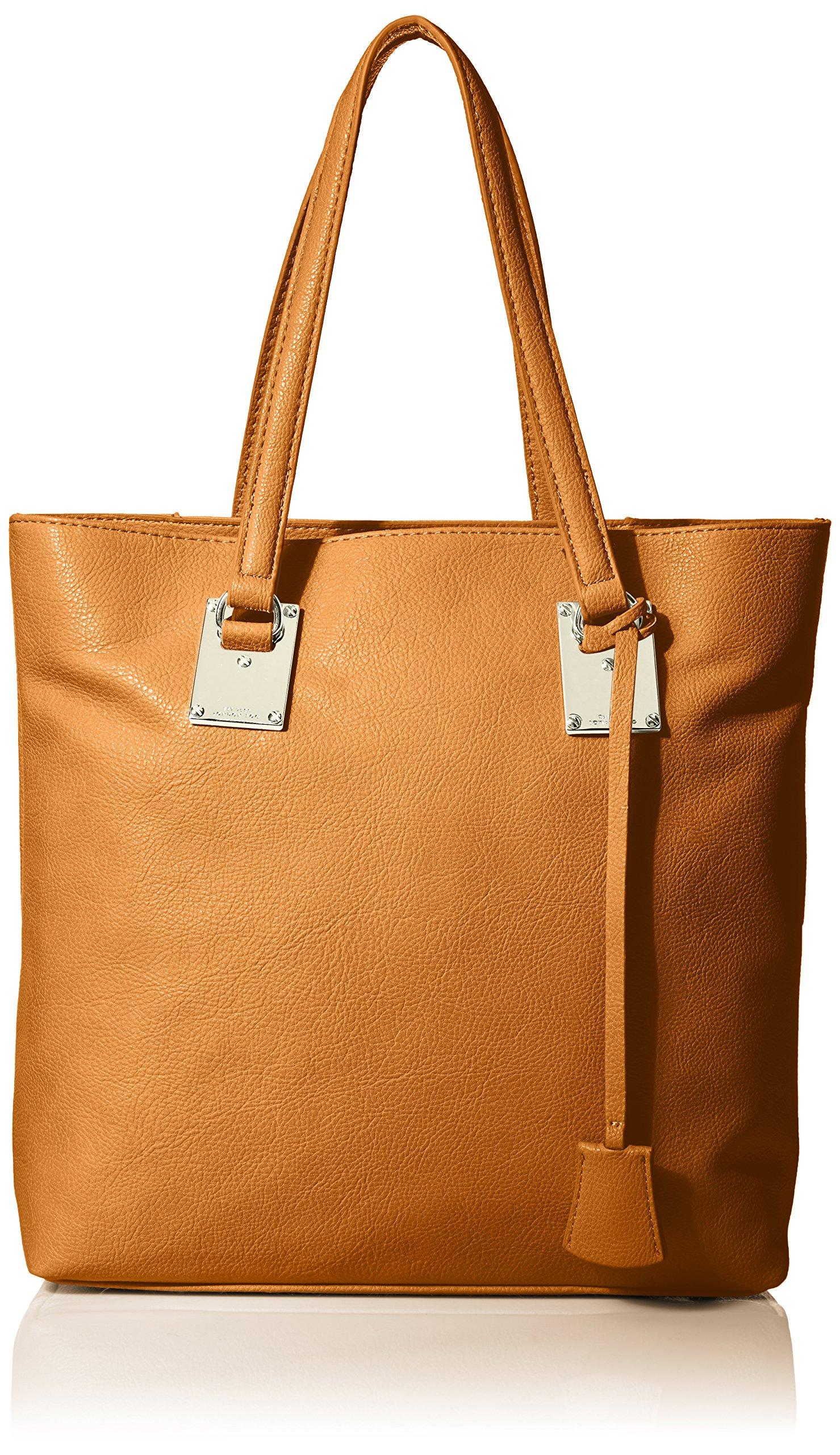 London Fog Smithfield Style Tote Bag ,Cognac ,One Size