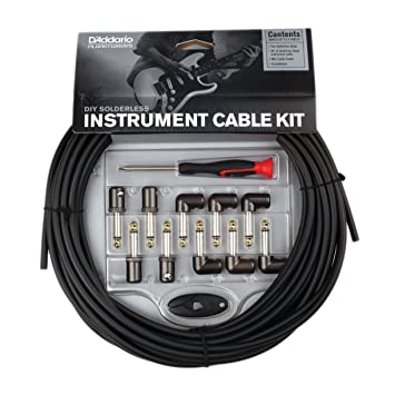 Planet Waves Cable System PW-GPKIT-50 - Juego de cables, conectores y