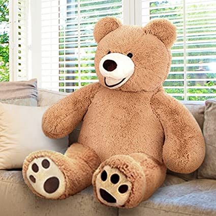 Amazon Com Artcreativity 4 Feet Giant Teddy Bear Extra Plush And