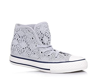 CONVERSE Silberner Chuck Taylor All Star Sneaker mit