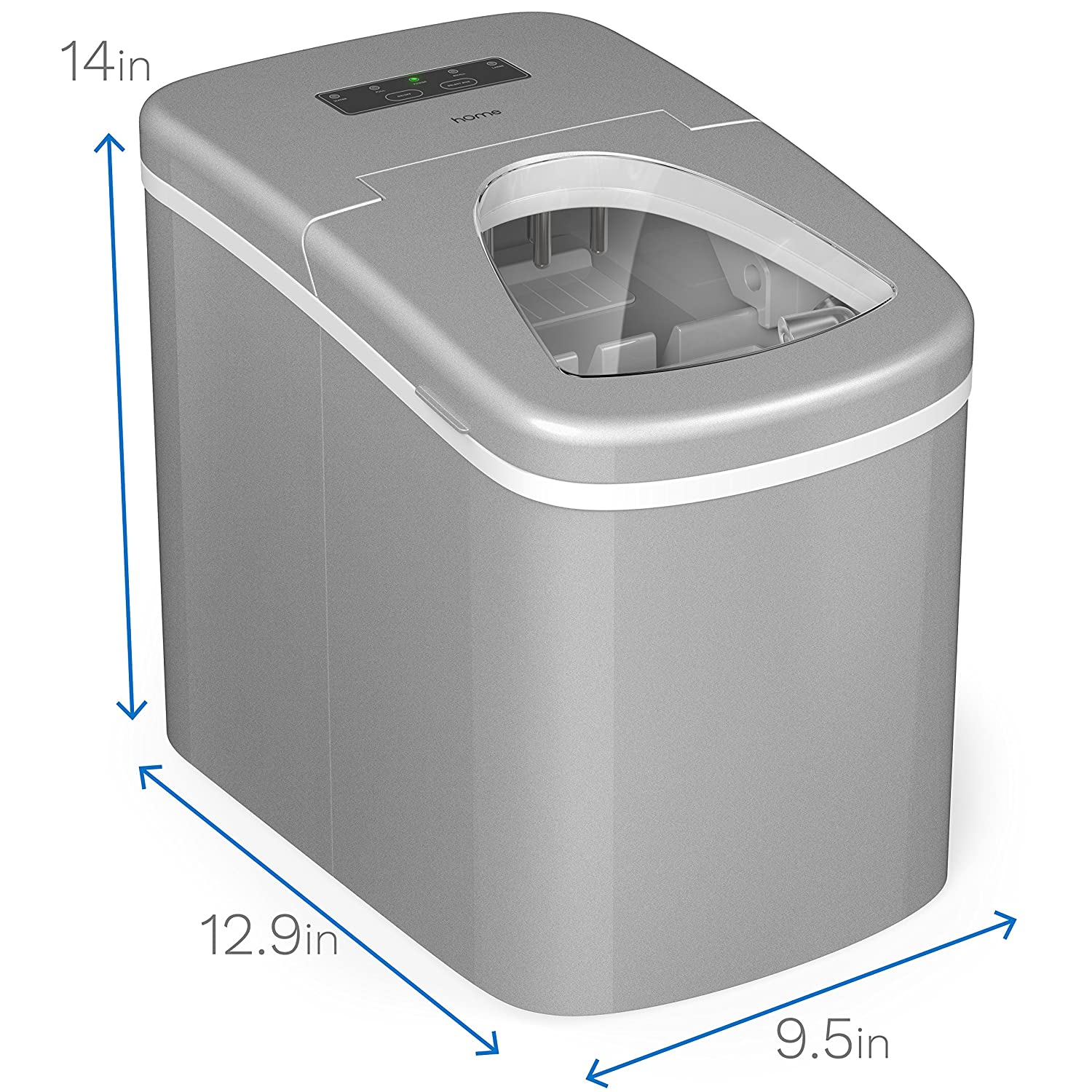 Amazon.com: hOmeLabs Portable Ice Maker Machine for Counter Top ...