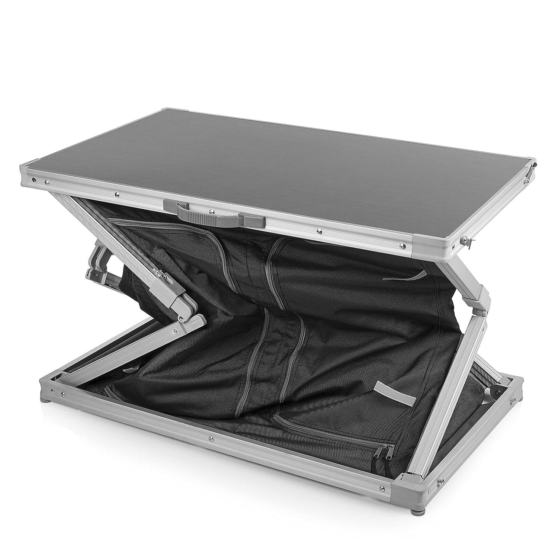 Ingenioso sistema de plegado Tres compartimentos Armario de camping Bordeaux Campart Travel CU-0724
