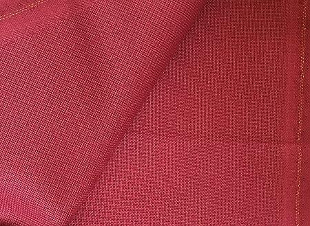 Zweigart - Tela de Murano de 32 hilos, color rojo borgoña, 50 x 70 ...