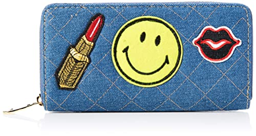 For Time WHV1011, Cartera Monedero Emoji Alargada Unisex ...
