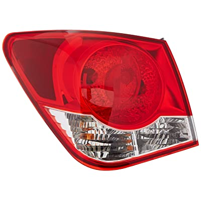 TYC 11-6358-00-1 Compatible with CHEVROLET Cruze Replacement Tail Lamp: Automotive