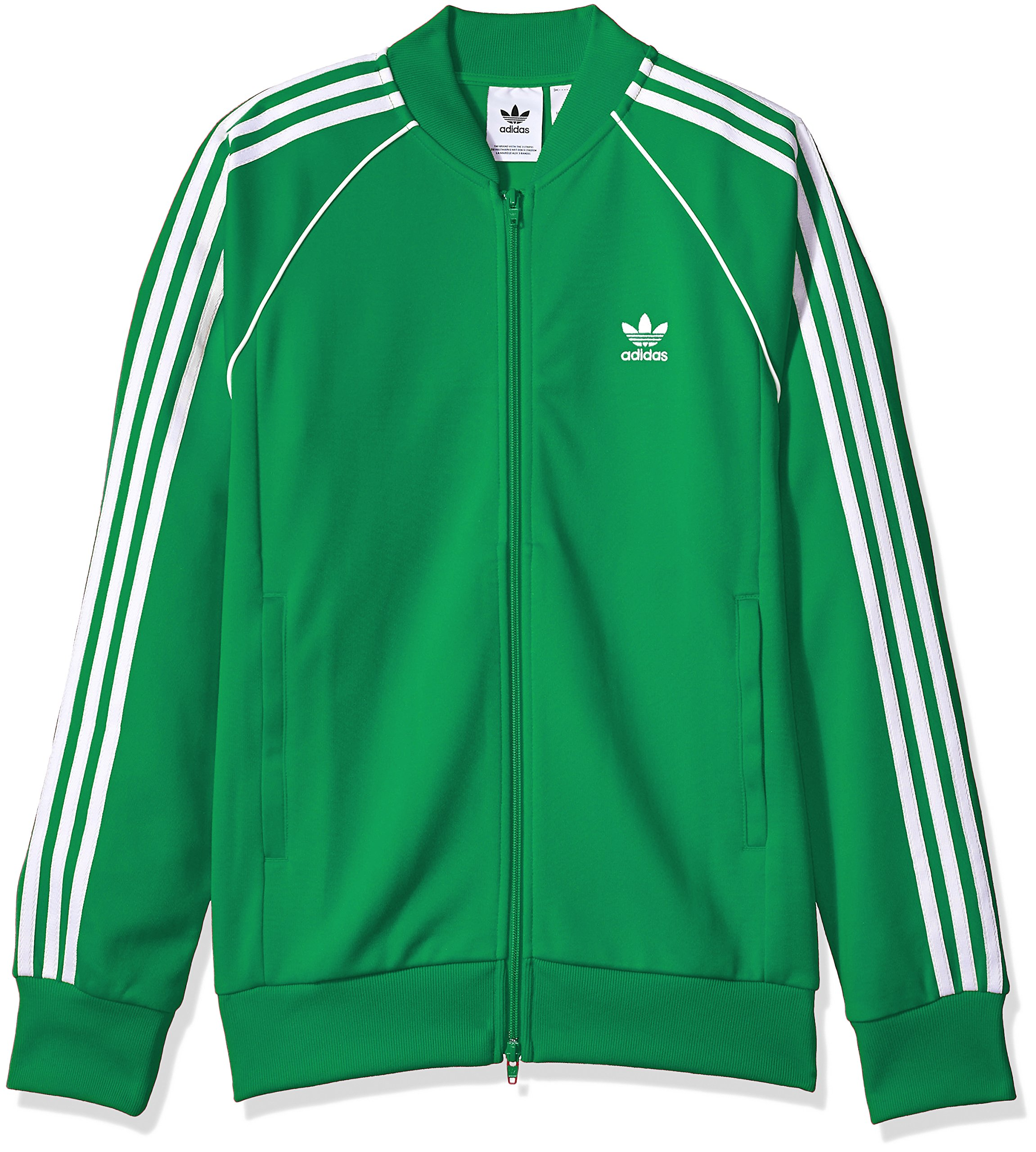8982d326 Galleon - Adidas Originals Men's Superstar Track Jacket, Green, M