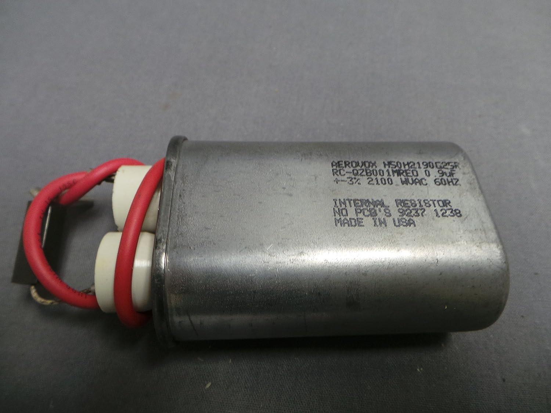 Sharp rc-qzb001mre0 microondas de alta tensión condensador: Amazon ...