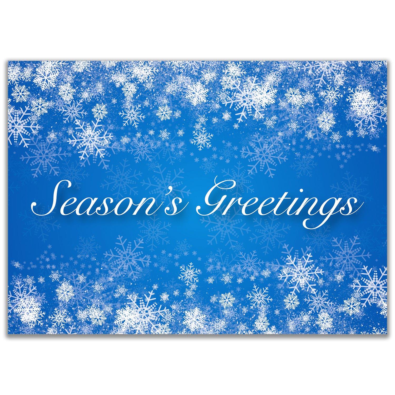 Amazon Holiday Christmas Cards With Seasons Greetings Text